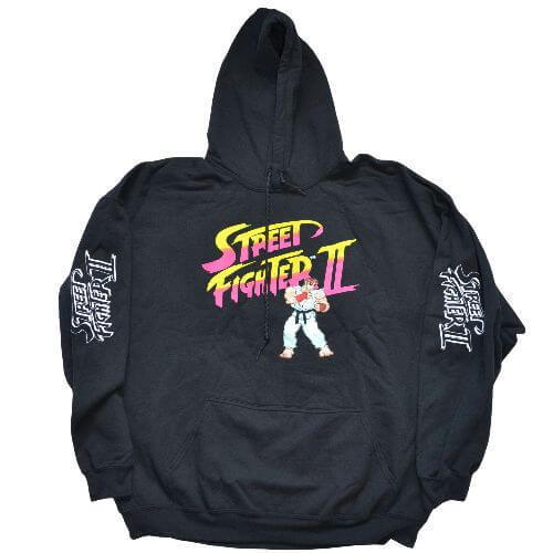 OFFICIAL STREET FIGHTER HOODIE
