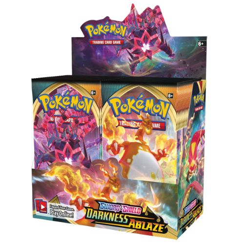 POKEMON SWORD AND SHIELD DARKNESS ABLAZE (PRE-ORDER)