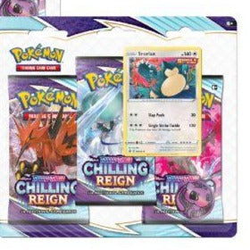 CHILLING REIGN 3 PACK BLISTER - SET OF 2