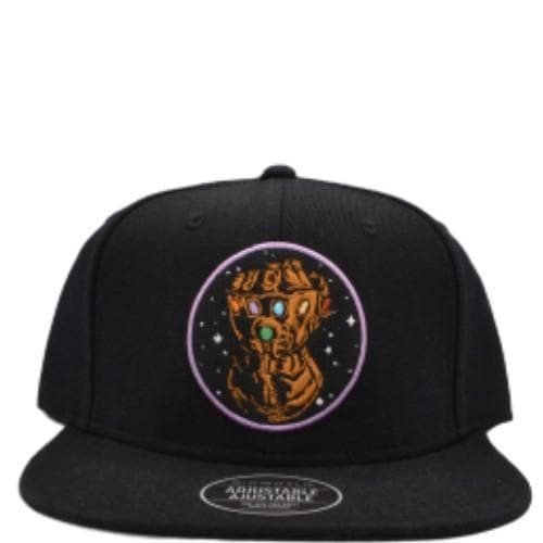 MARVEL THANOS GLOVE SNAPBACK HAT