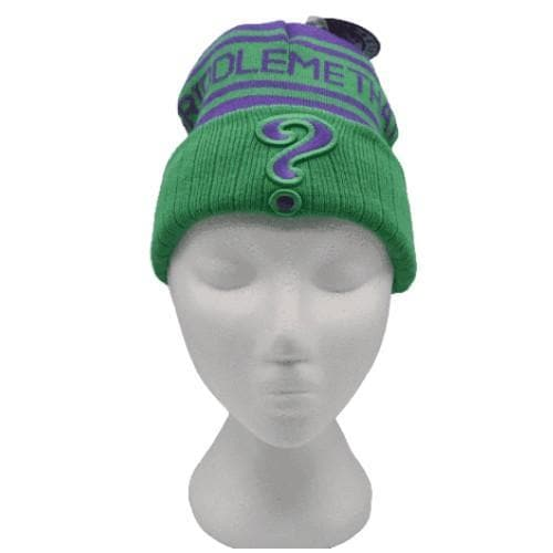 THE JOKER BEANIE - RIDDLE ME THIS (DC COMICS) - DC Beanies
