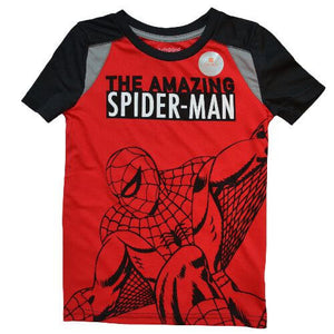 OFFICIAL SPIDERMAN T-SHIRT (BOYS 4-12)