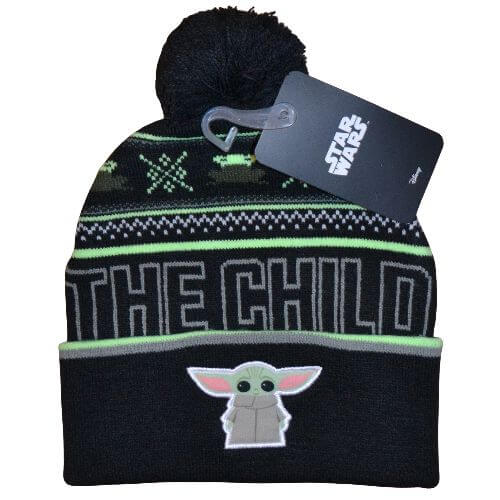 The Child Official Black Beanie - Star-Wars - Mandalorian