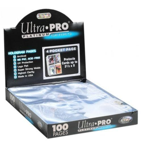 ULTRA-PRO PROTECTOR PAGES 9 POCKET (25 PAGES)