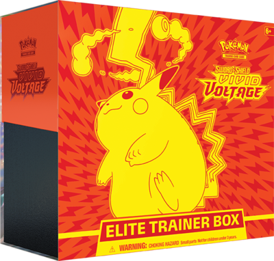 VIVID VOLTAGE ELITE TRAINER BOX - SWORD & SHIELD - PRE-ORDER