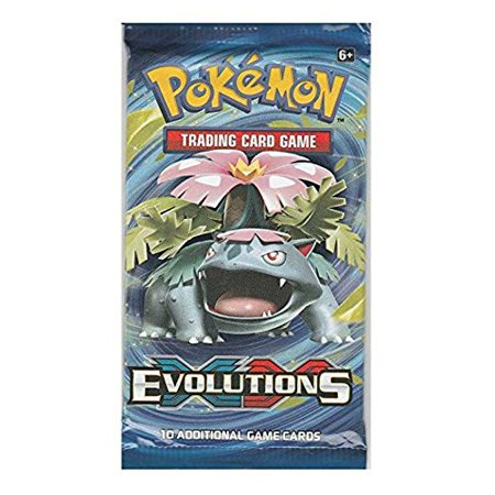 XY EVOLUTIONS BOOSTER PAK