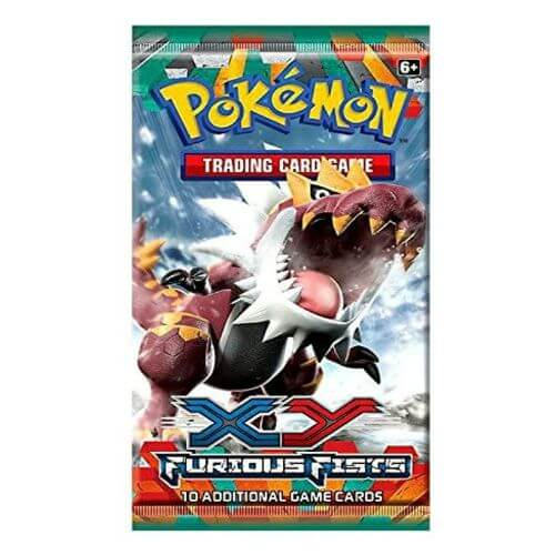 XY FURIOUS FISTS BOOSTER PACK