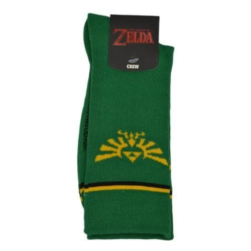 ZELDA MEN'S CREW SOCKS - Nintendo Apparel - Geek Attire