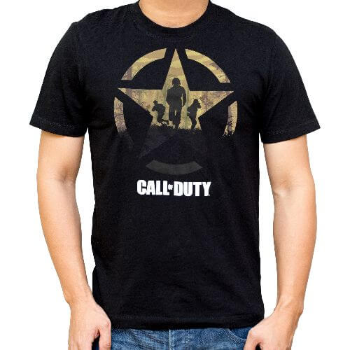 OFFICIAL CALL OF DUTY STAR SOLDIERS T-SHIRT