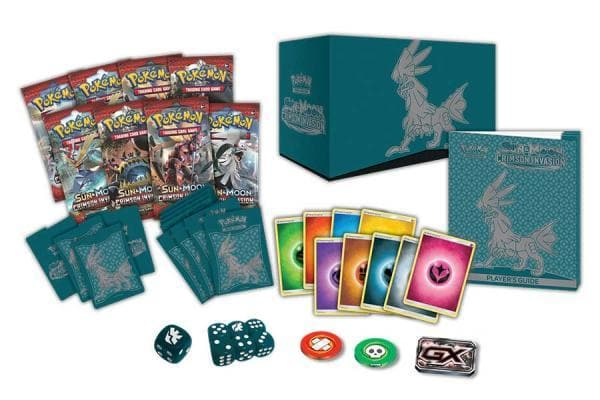 POKEMON SM4 ELITE TRAINER BOX CRIMSON INVASION
