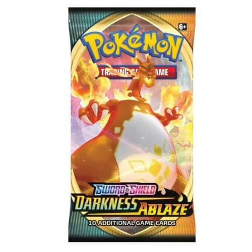 1 X DARKNESS ABLAZE BOOSTER PACK