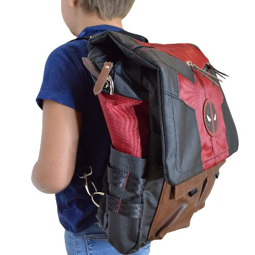 Deadpool Costume Inspired Backpack