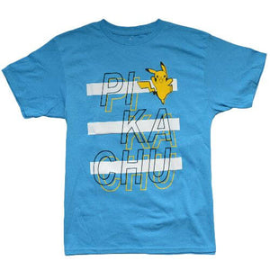 OFFICIAL PIKACHU T-SHIRT (BOYS S-XL)