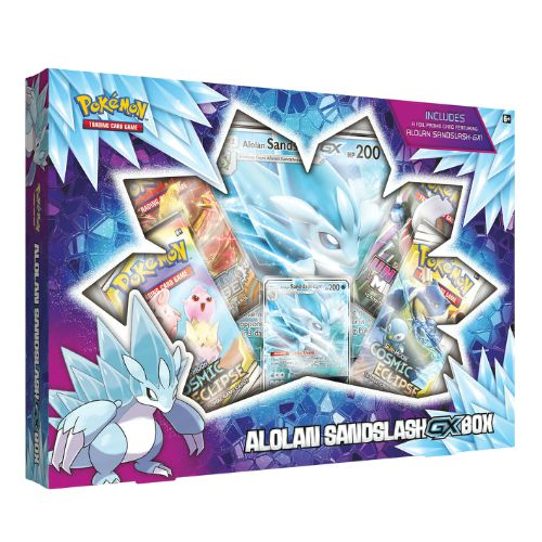 Pokemon TCG: Alolan Sandslash - GX Box