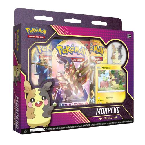 Pokemon TCG: Morpeko Pin Box
