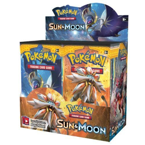 SUN AND MOON BOOSTER BOX - Pokemon cards - Pokemon merchandise