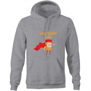Will Squat for PB - Double Sided Hoodie