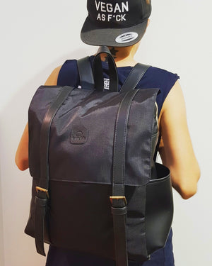 Recycled materials - waterproof backpack