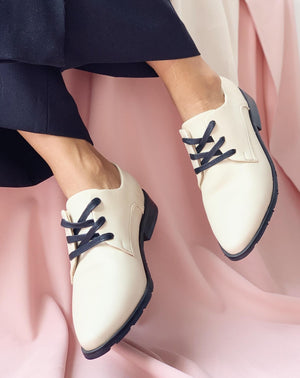White Oxfords