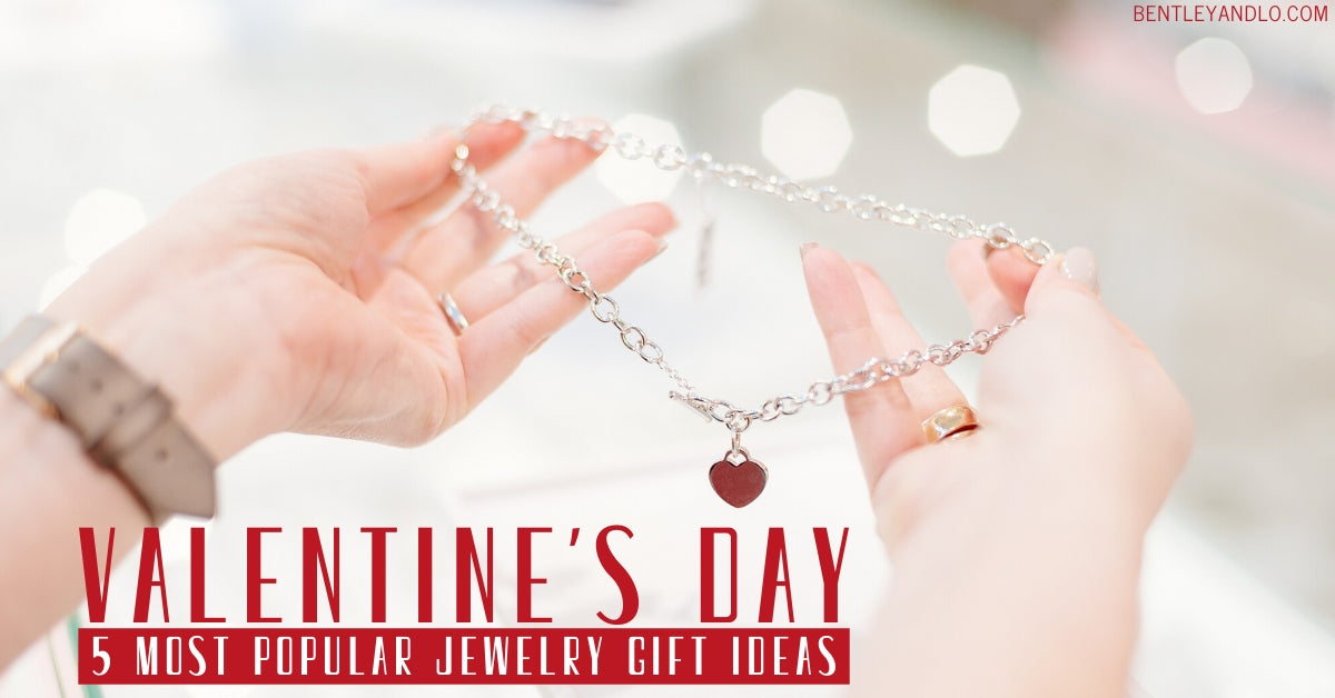 5 most popular jewelry gift ideas for valentines day