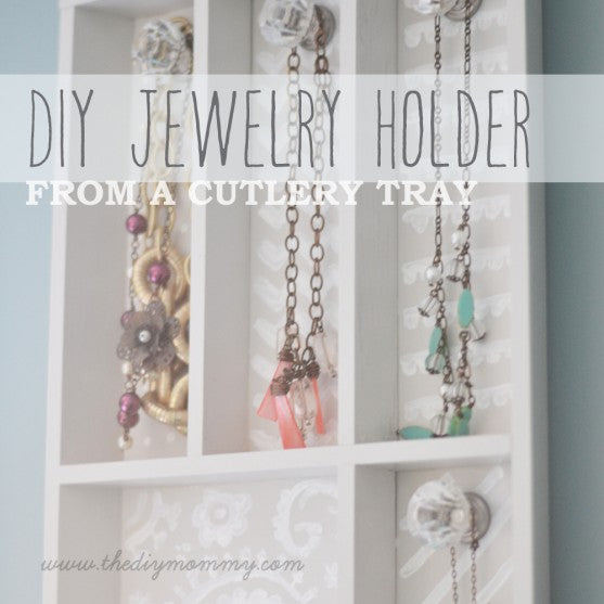 cutlery tray jewelry holder
