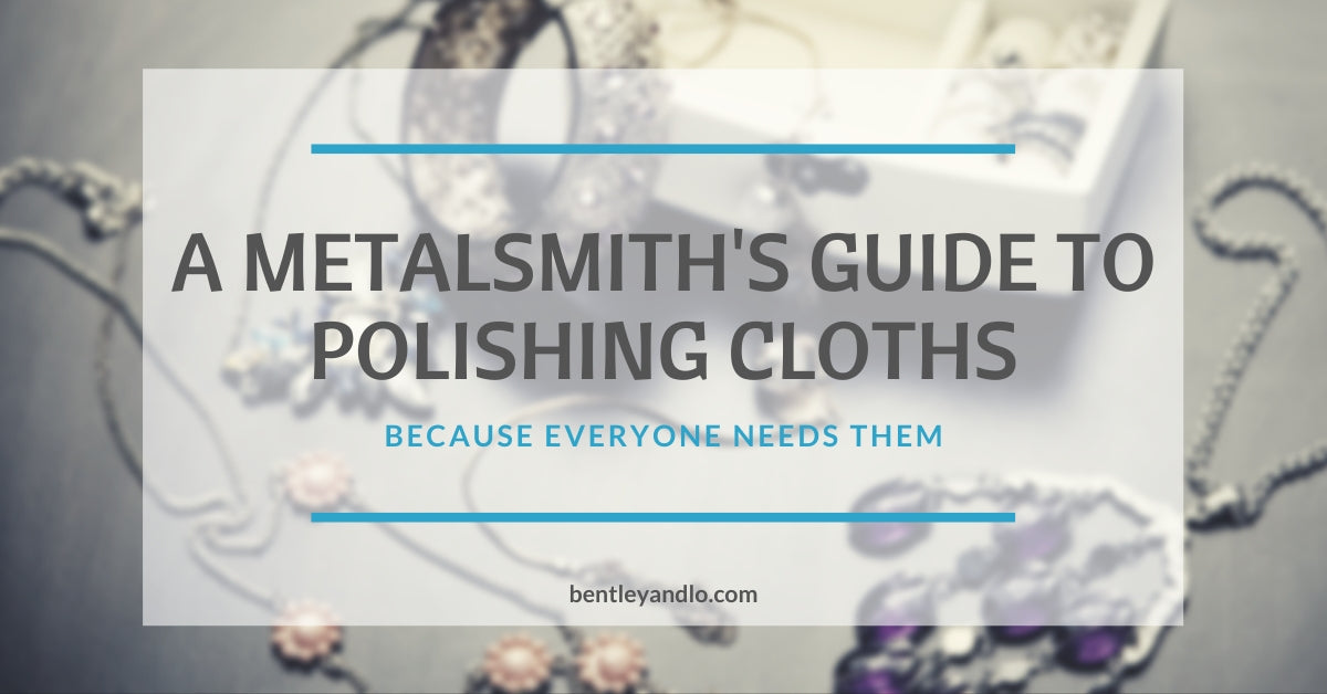 a metalsmith's guide to polishing cloths