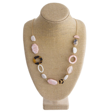 Blooming Pink Necklace