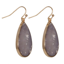 Short Teardrop Earrings