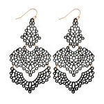Tiered Filigree Earrings | Earrings | Bentley & Lo