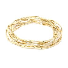 Twisted Bangle Bracelet Set