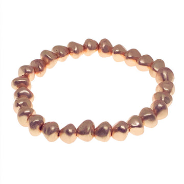 Metallic Rose Gold Bracelet