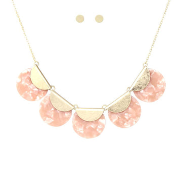 Pink Banner Necklace