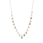 Charmed with Teal Necklace