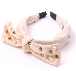 Dreamy Pearl Bow Headband