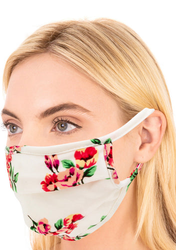 Dreamy Florals Face Mask
