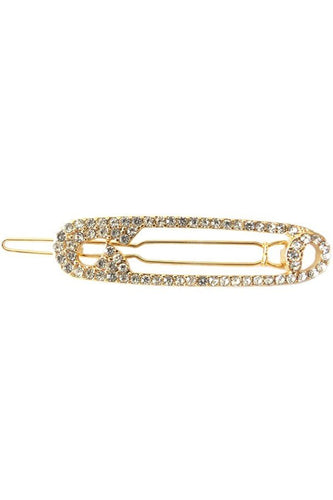 Safety Pin Barrette