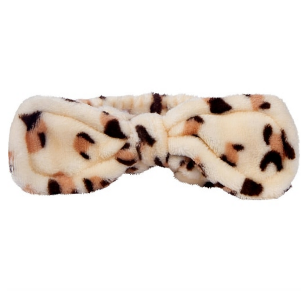 Add On: Cheetah Print Spa Headband