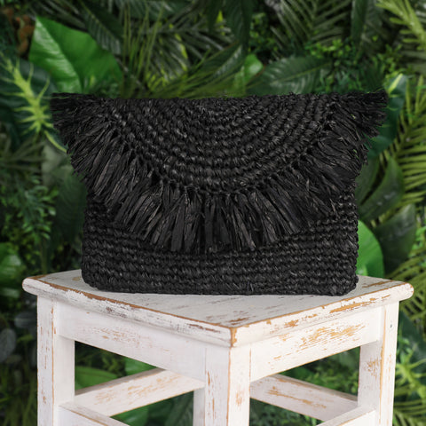 Bali clutch bag black