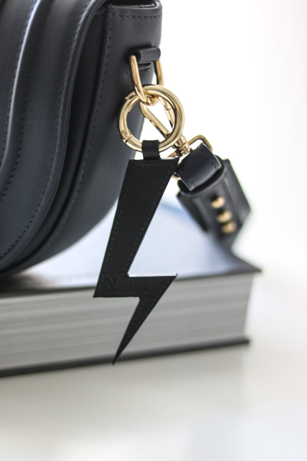 Lightening keyring black