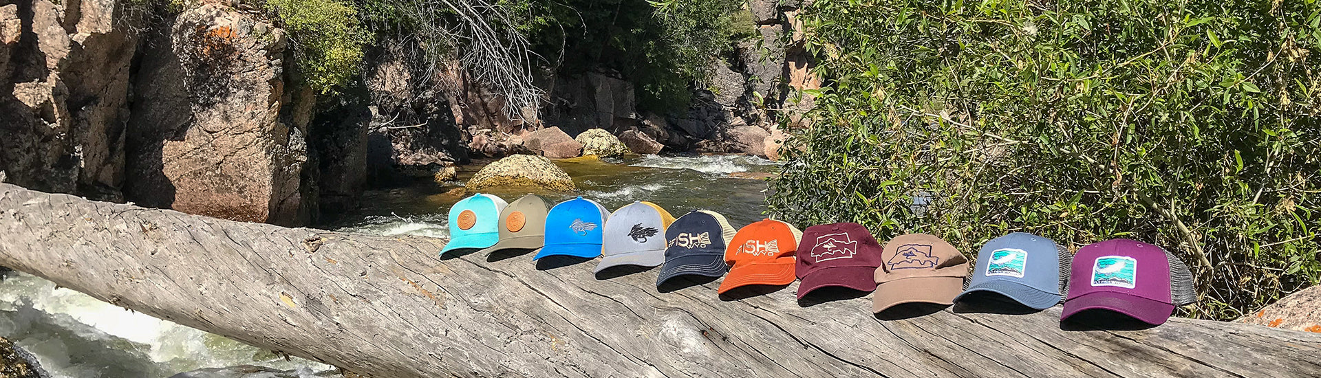 fly fish wyoming hat collection