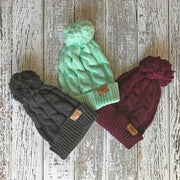 Fly Fish Wyoming Beanie Fishy Cable Knit Beanie