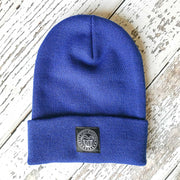 Fly Fish Wyoming Beanie Royal Blue Fly Fish Wyoming® Knit Beanies