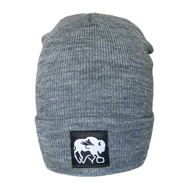 Fly Fish Wyoming Beanie Wyo Bison Fly Knit Beanies