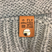Fly Fish Wyoming Beanie Wyo Fly Bison Slouch Beanies - 4 Colors!
