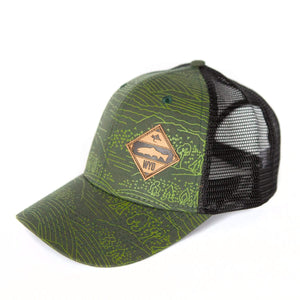 Fly Fish Wyoming Hat Diamond Patch Nomad Hat