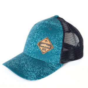 Fly Fish Wyoming Hat Diamond Patch Scales Hat