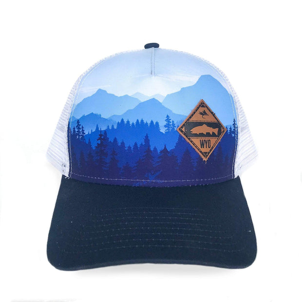 Fly Fish Wyoming Hat Diamond Patch Treeline Hat