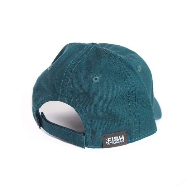 Fly Fish Wyoming Hat Topo Fish Patch Relaxed