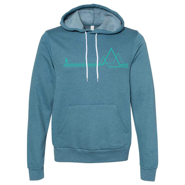 Fly Fish Wyoming Men's S / Teal 3 Peaks Fisher Hoodie