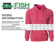 Fly Fish Wyoming Men's Fish Jump Hoodie - Midnight Gray